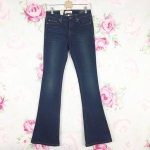 Henry & Belle Micro Flare Rustic Denim Jeans 27
